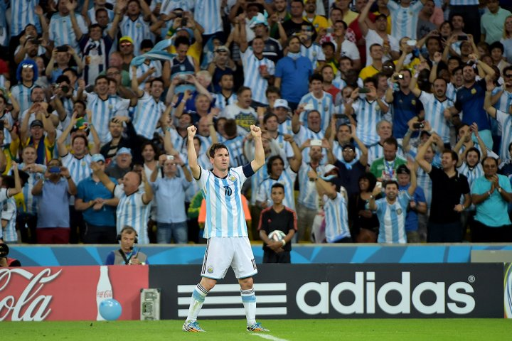 world cup fans argentina