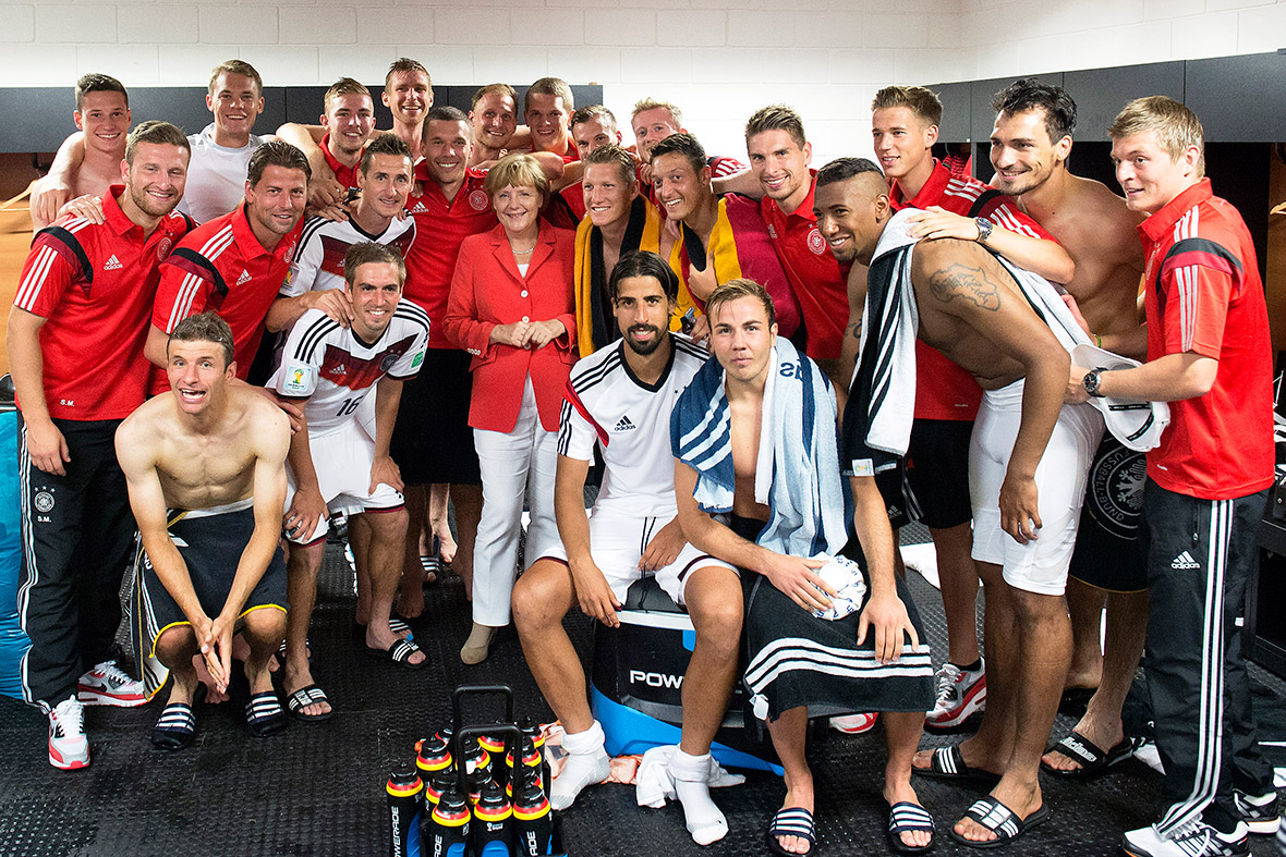 World Cup Germany Merkel