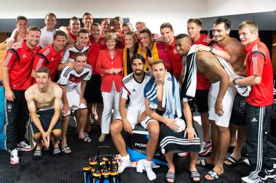 World Cup Germany Merkel
