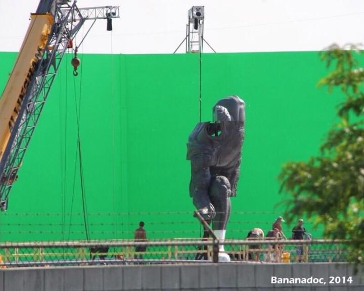 Batman v Superman on-set images