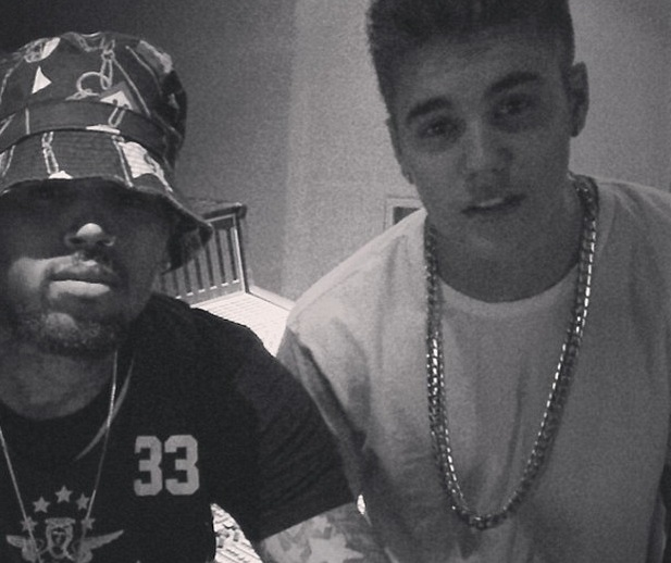 Chris Brown, Justin Bieber
