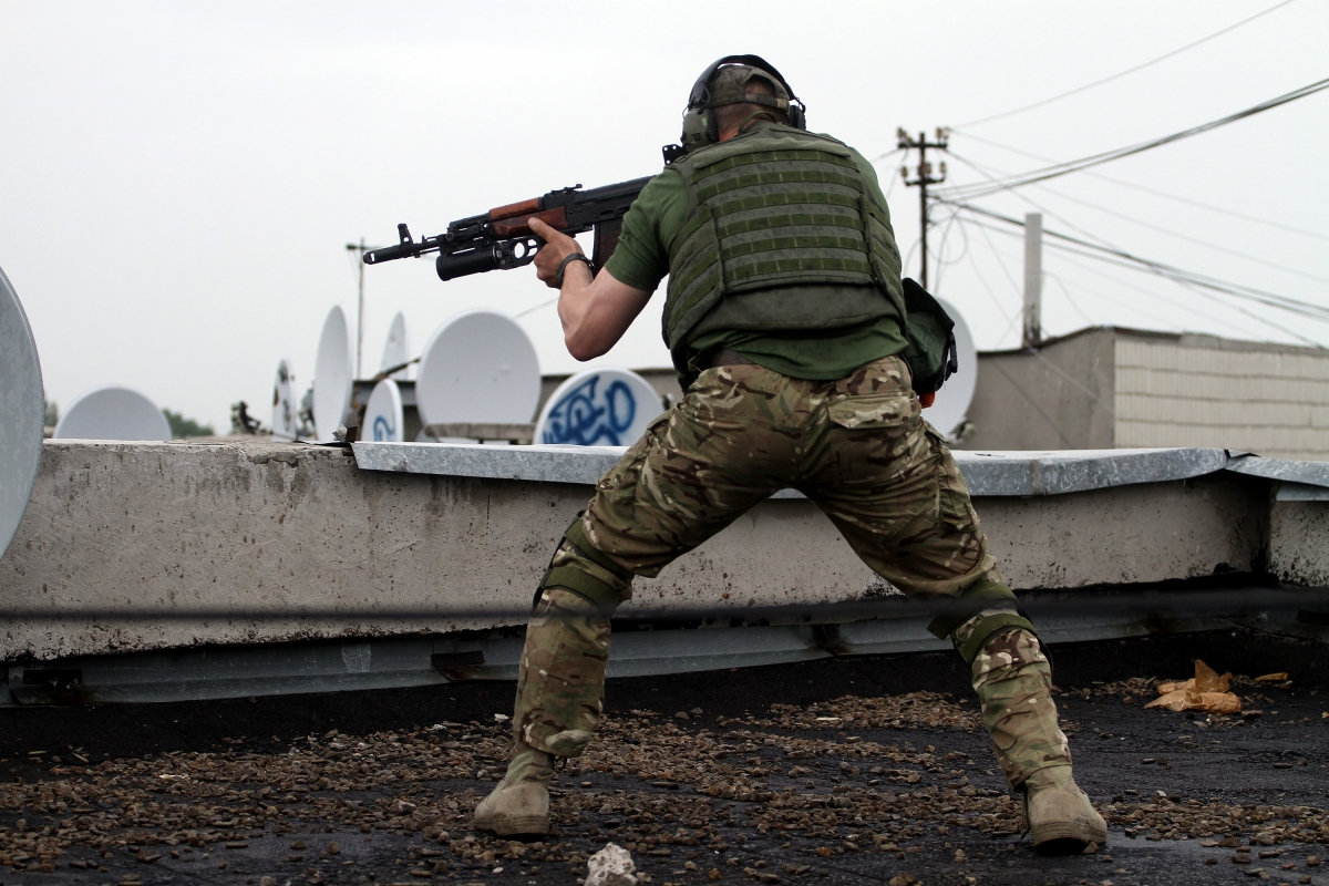 Journalist for Rossiya Channel injured 'by mine' near conflict zone of Lugansk