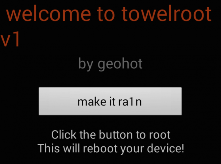 Geohot's Towelroot v1 Debuts Rooting on Android for Galaxy S5, Nexus 5 and Others