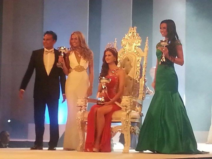 Coming in second place was Miss Leicestershire, Holly Desai. Third place was given to Miss Lancashire Mary-Kate McKay.