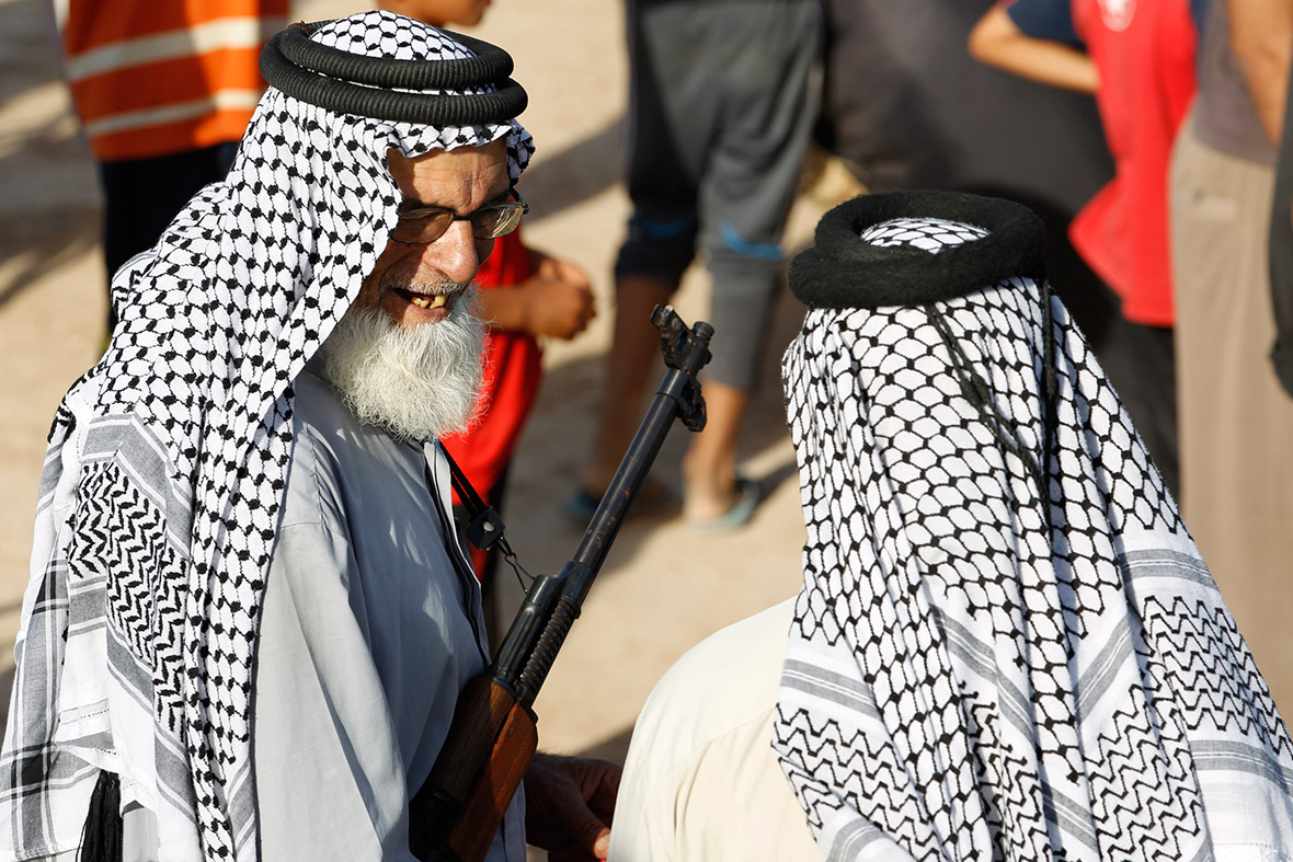 iraq volunteer elderly
