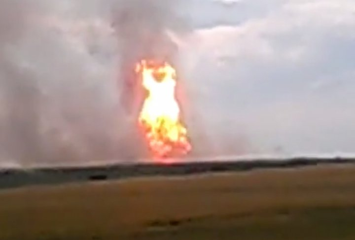 Ukraine Gas pipeline explosion