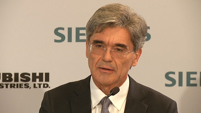 Siemens CEO Sees No Reason to Discuss Improving Alstom Offer