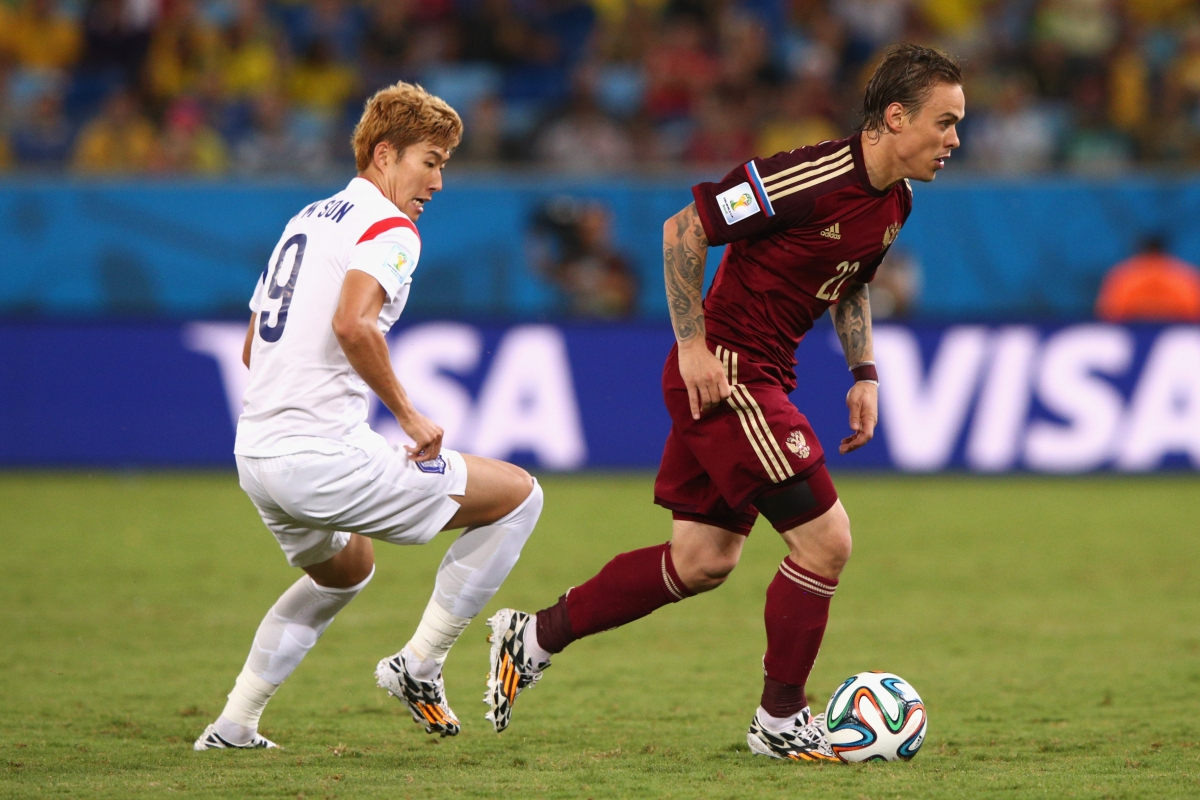 Russia v South Korea