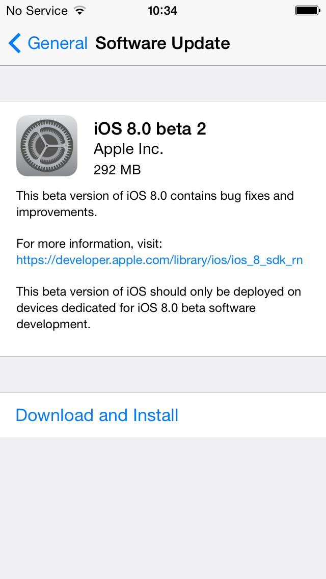 iOS 8 Beta 2 Now Available for Download, New Features and Changelog Revealed