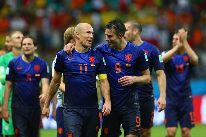 Arjen Robben-Robin van Persie