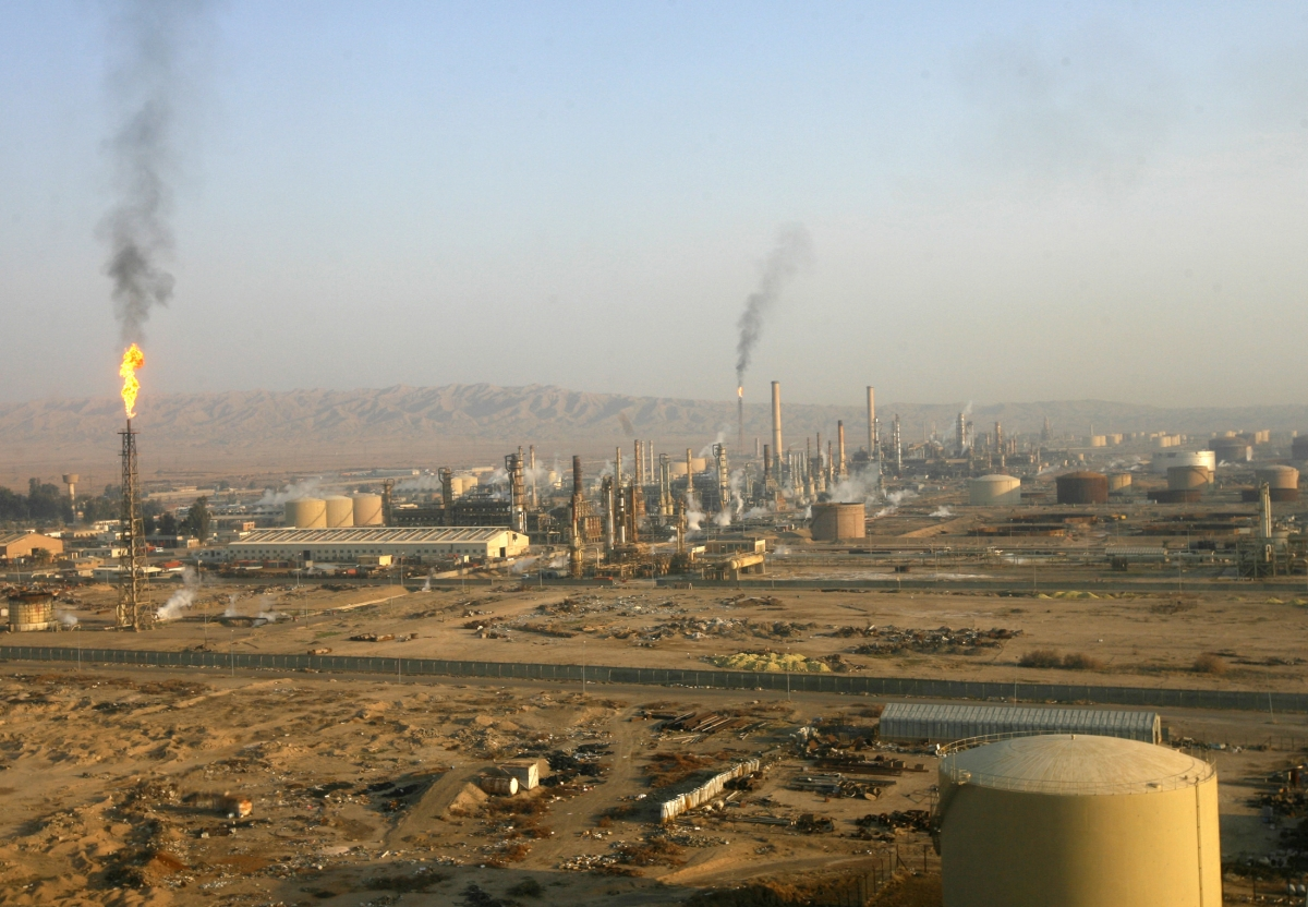 Baiji oil refinery
