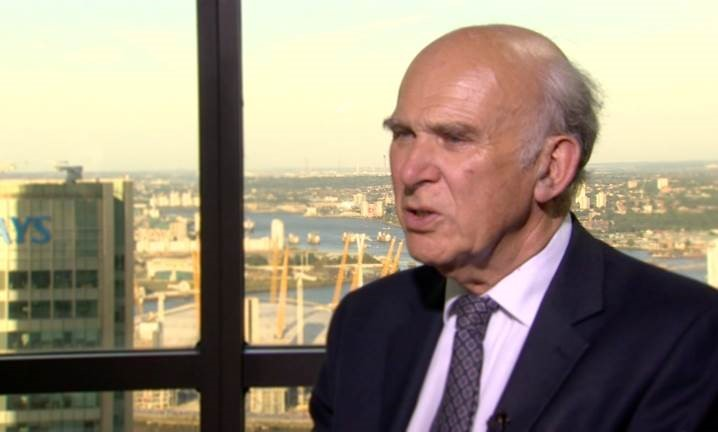Vince Cable: 'Don't Lecture China on Human Rights' Amid It Overtaking the US Economy