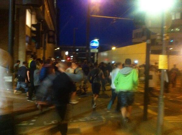 Croydon illegal rave