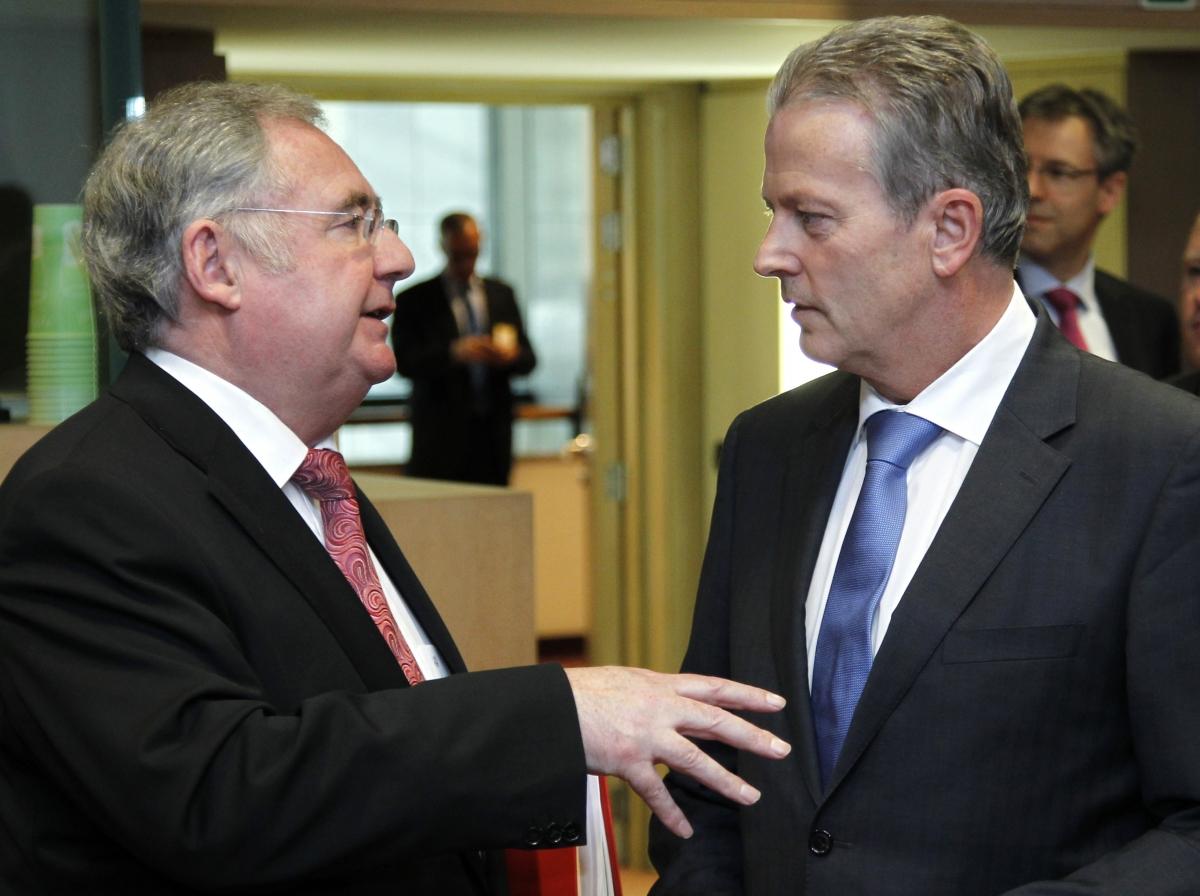 Irish energy minister Pat Rabbitte