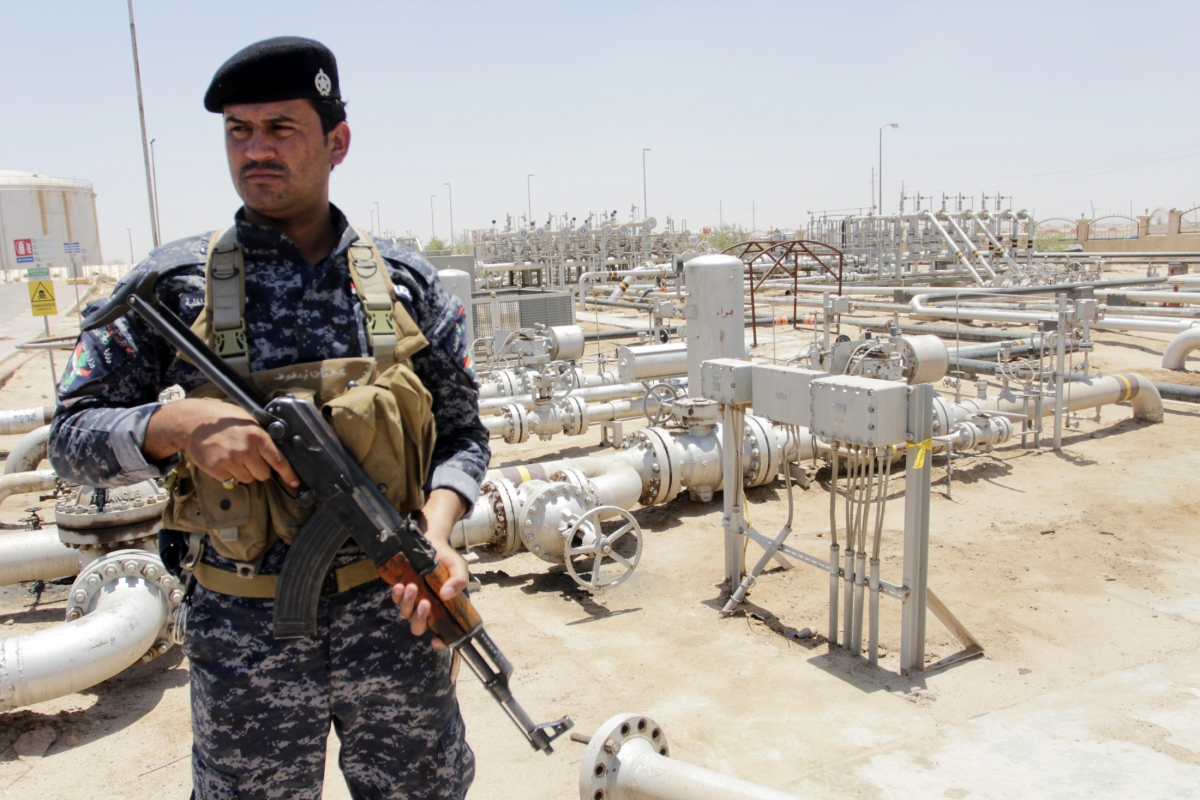 Iraq oil police