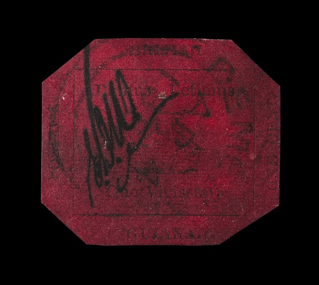 British Guiana One-Cent Magenta