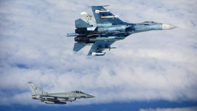 RAF Typhoons