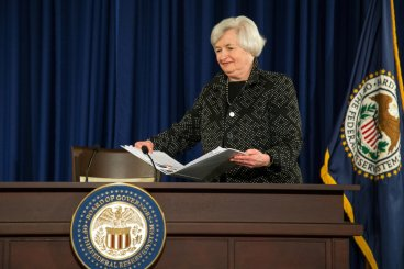 Federal Reserve Chair Janet Yellen
