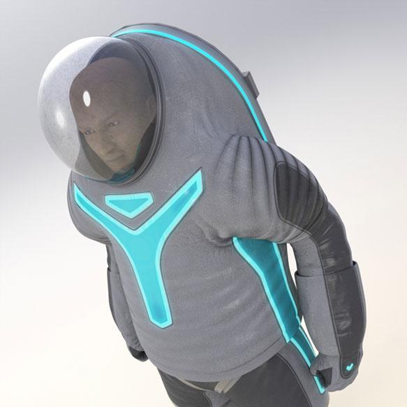 Nasa Tron-Like Z-2 spacesuit