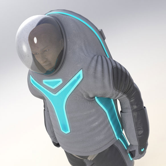 Nasa Tron-Like Z-2 spacesuit