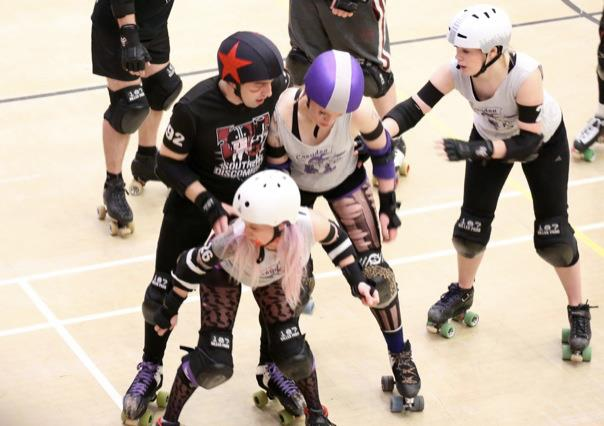 'Roller derby needs help from all sides, male and female, to evolve and improve' - Lily Rae