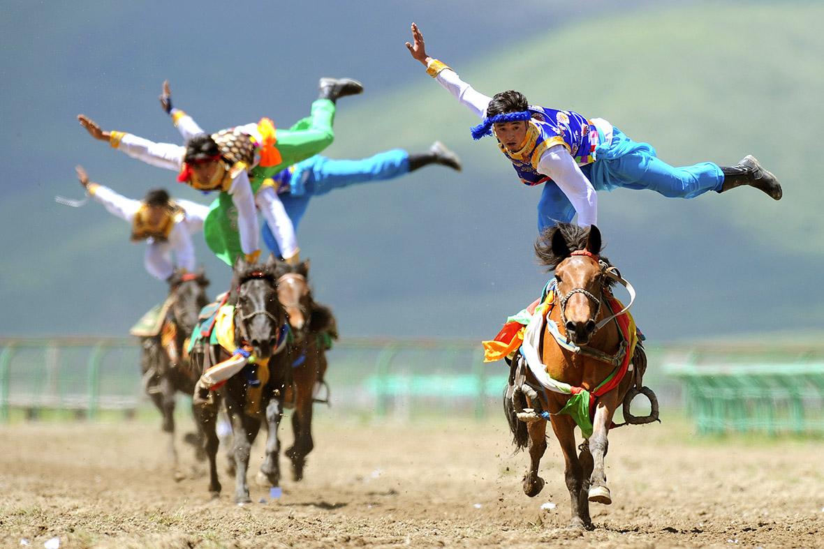 tibet jockeys