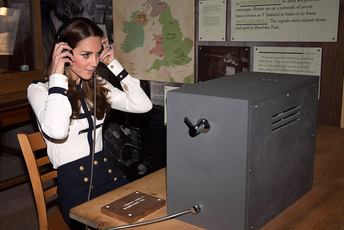 kate middleton bletchley