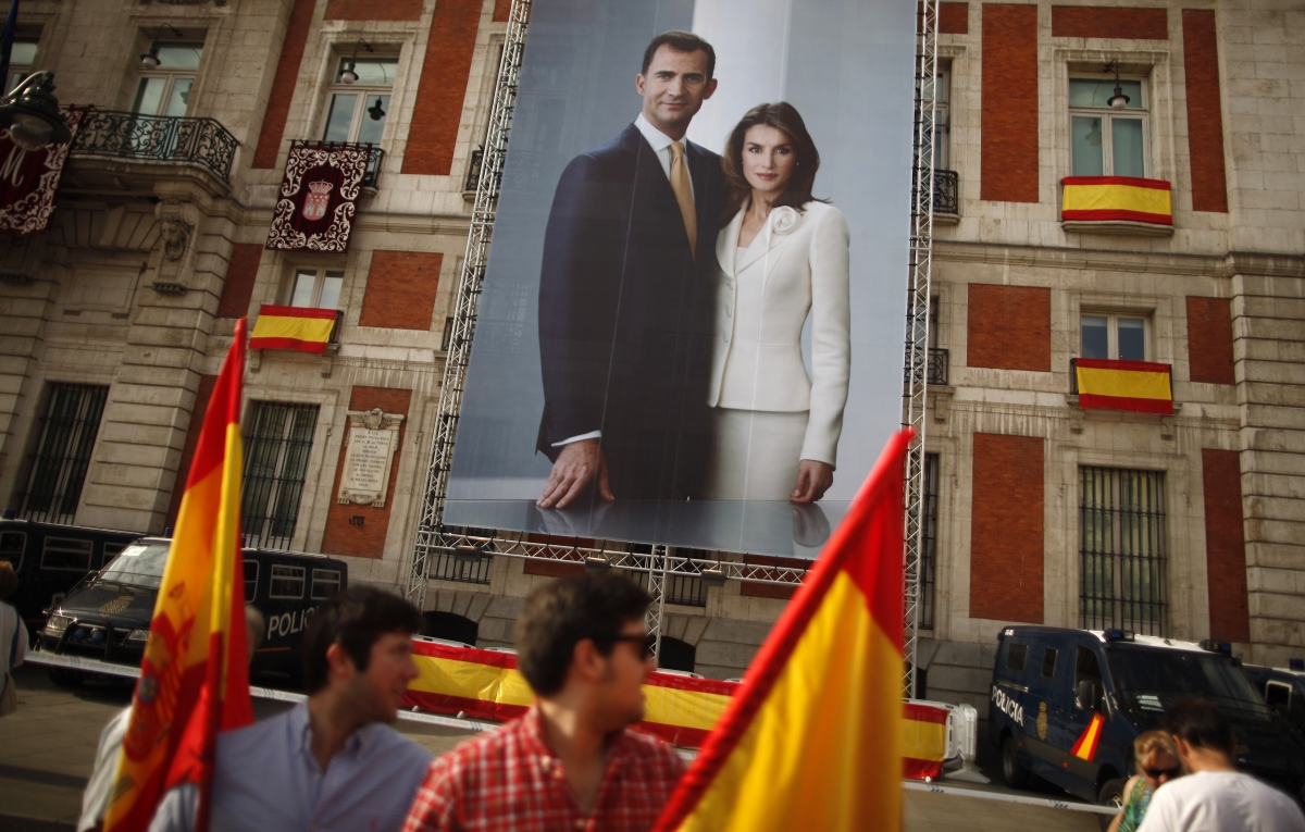 Spain King Felipe VI