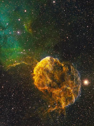 IC 443 - The Jellyfish Nebula by Bob Franke