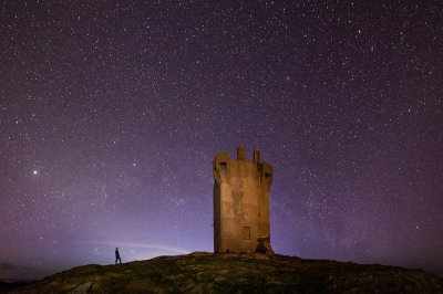Stargazing at Malin Head by Martina Gardiner