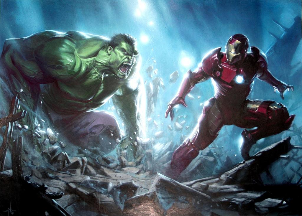 Iron Man vs Hulk