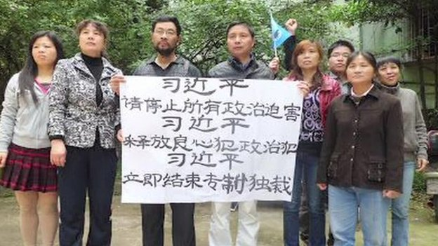 China Activists