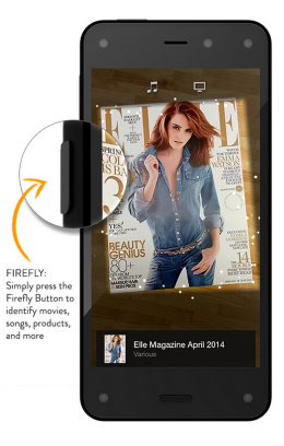 Amazon Fire Smartphone with Firefly Service