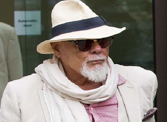 Gary Glitter appeared at court to face child sex allegations, after he was arrested in Operation Yewtree