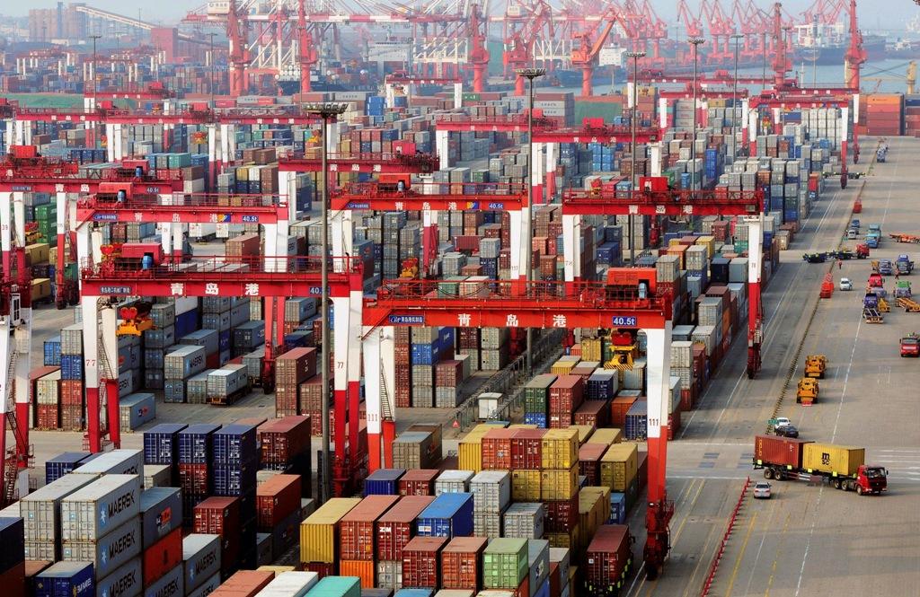 Qingdao Port China