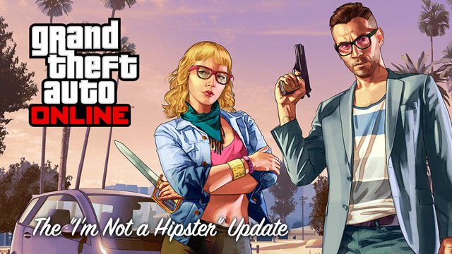 GTA 5 DLC Hipster Update: Rare Gold Paint Job for Dubsta 6x6 and Blade, and Lowrider Mod Customisation
