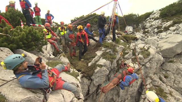 Trapped Explorer in German Cave Rescued After 12 days