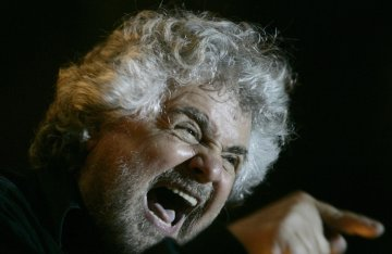 Beppe Grillo leads the FIve Star Movement, which has raged against austerity in Italy