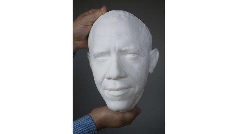 Obama 3D portrait