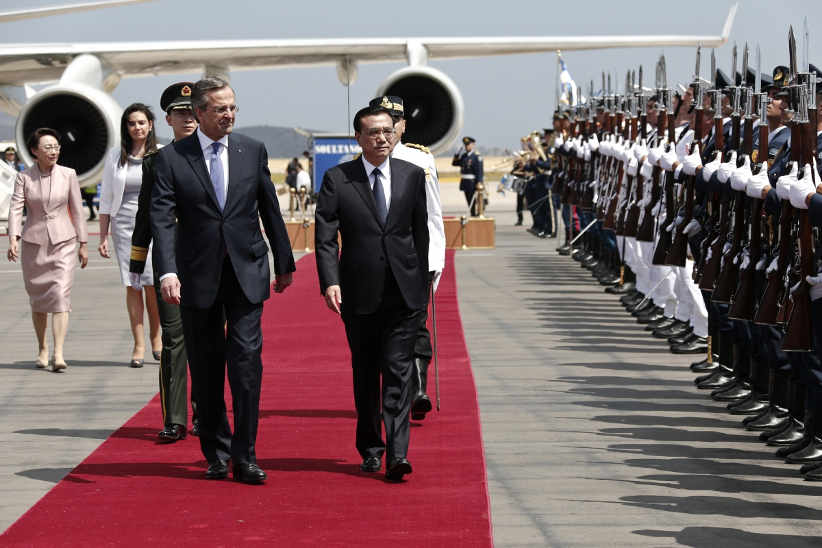 Li Keqiang Greece