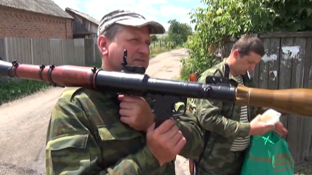 Ukraine Forces Battle Separatists after Truce 'Refused'