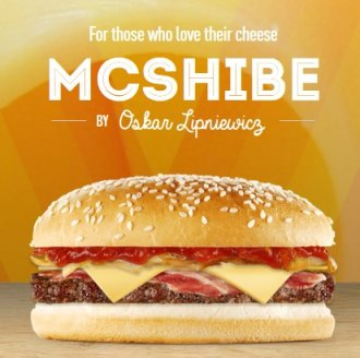 mcshibe burger dogecoin mcdonald's