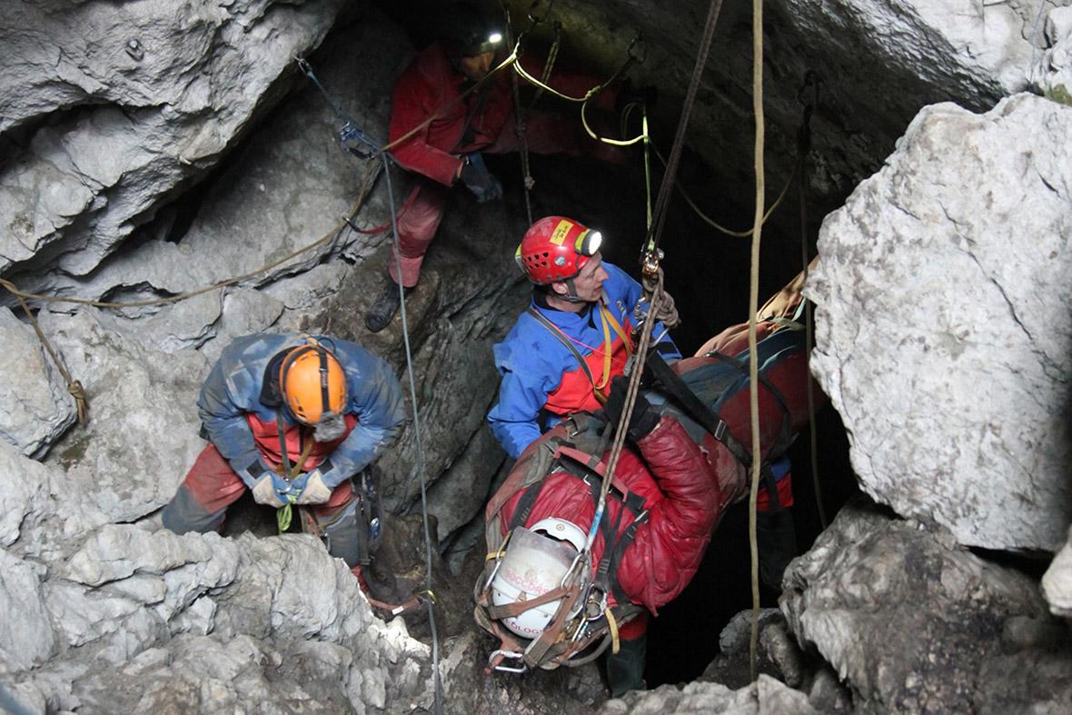 cave rescue