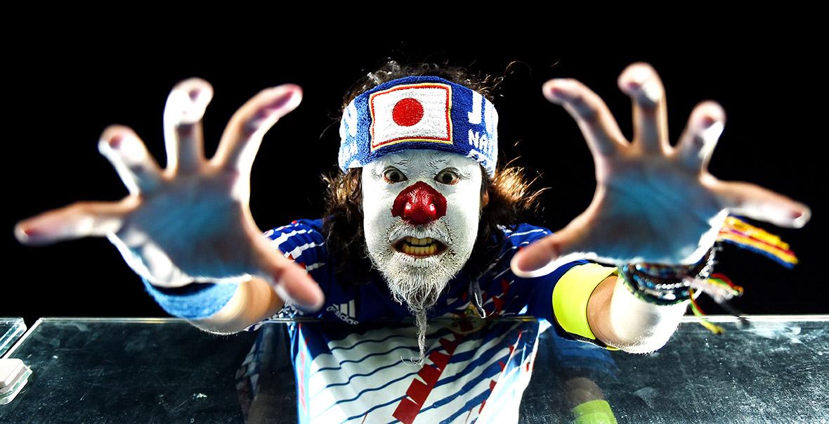 world cup fans japan