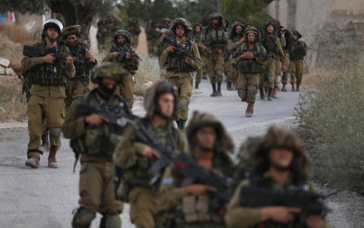 Israel Missing Teenagers Search