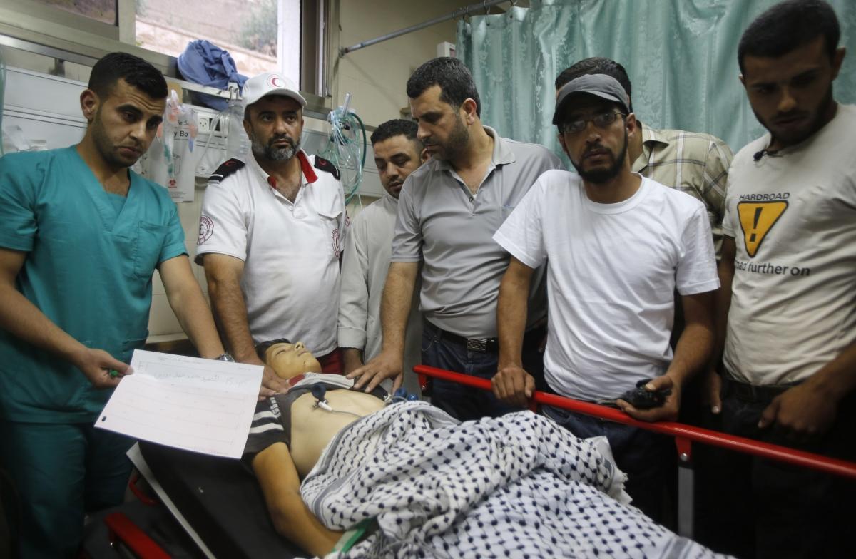Palestinian Teen Killed Israeli Troops Missing Teenagers Search