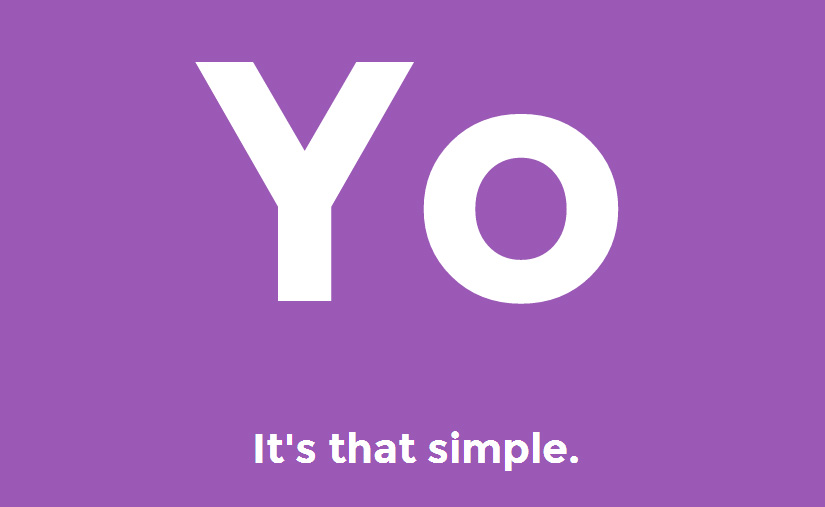 Yo - a new app that is really simple