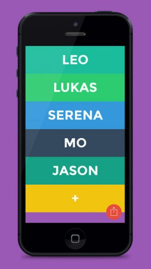 What the Yo app looks like