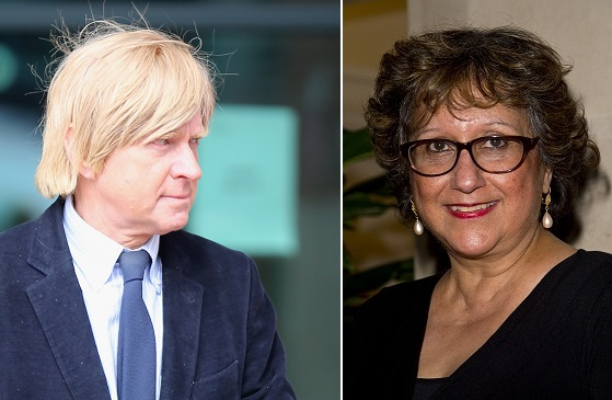 Michael Fabricant (left) spoke of his urge punch journalist Yasmin Alibhai-Brown