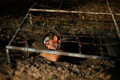 hamas summer camps barbed wire